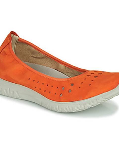 Oranžové balerínky Dorking