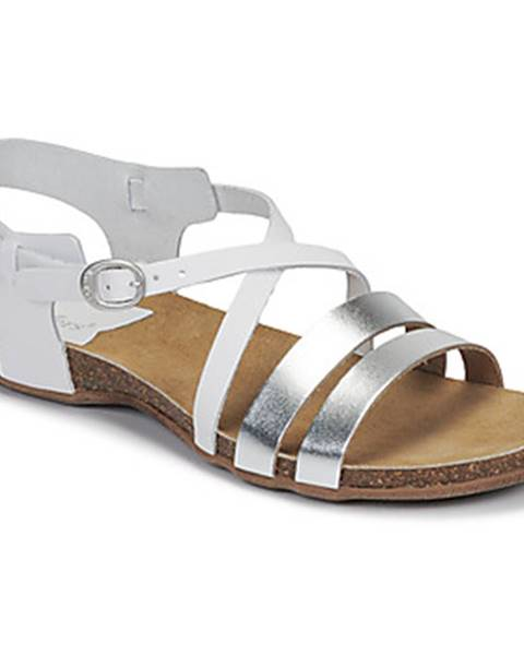 Biele sandále Kickers