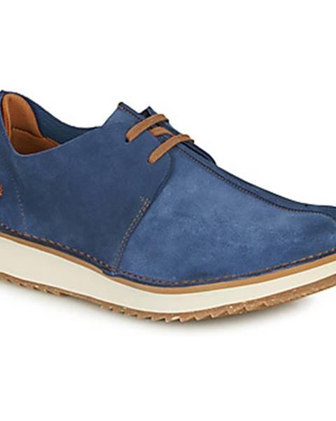 Modré topánky Art