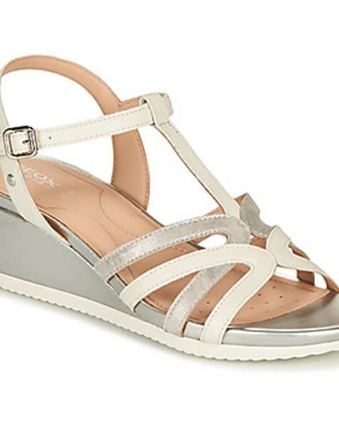 Biele sandále Geox