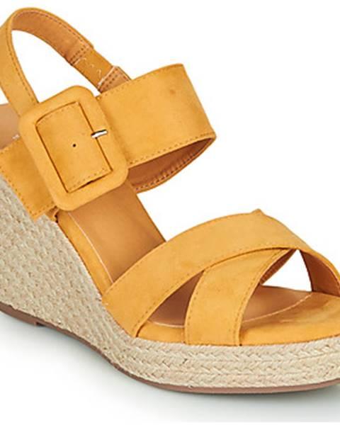 Žlté sandále Xti