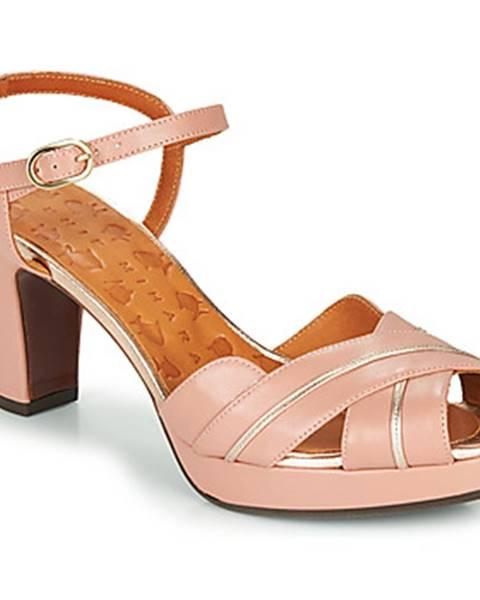 Ružové sandále Chie Mihara