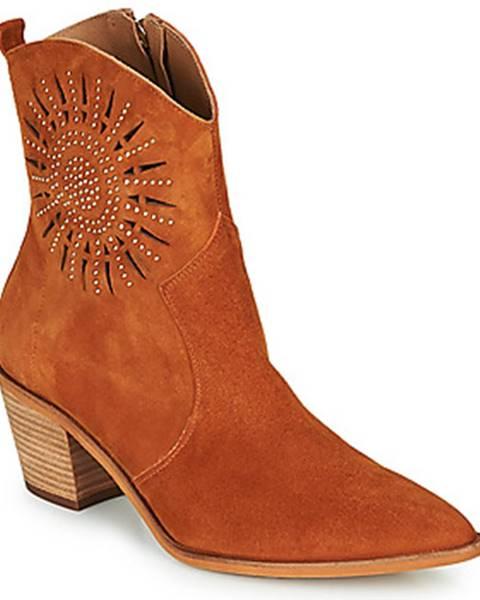 Oranžové topánky Fericelli