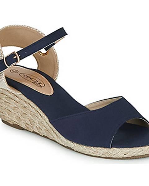 Modré sandále Spot on