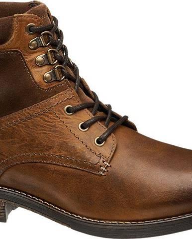 Hnedá zimná obuv AM SHOE