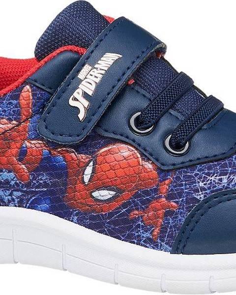 Modré tenisky Spiderman