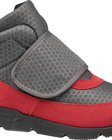 Sivá zimná obuv Bartek