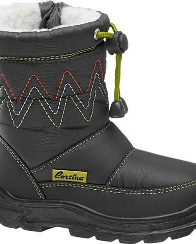 Sivá zimná obuv Cortina