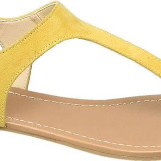 Graceland - Žlté sandále Graceland