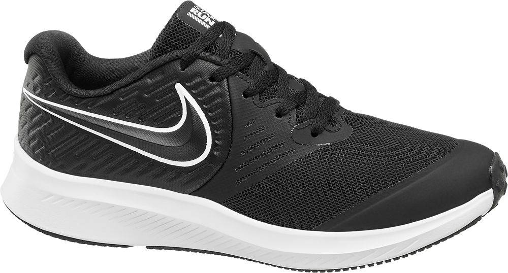 Nike NIKE - Čierne tenisky Nike Star Runner 2
