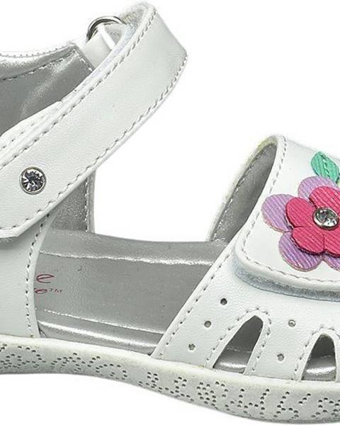 Biele sandále Cupcake Couture