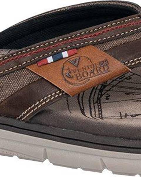 Hnedé sandále Venice