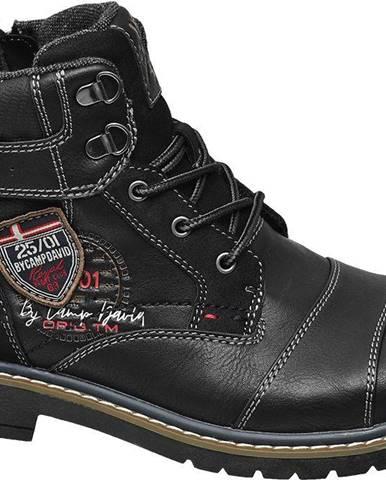 Čierne topánky Venture by Camp David