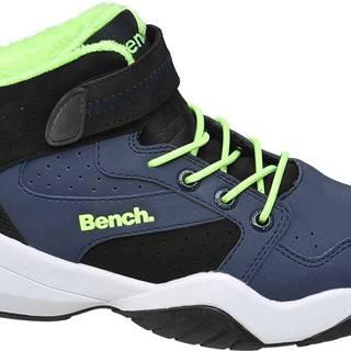 Bench - Tmavomodré členkové tenisky Bench