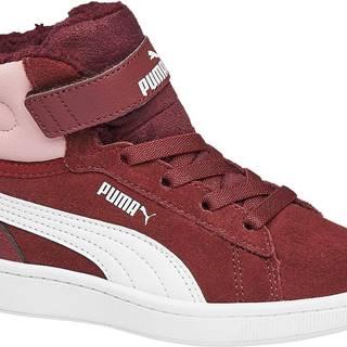 Puma - Bordové členkové tenisky Puma Vikky V2 Mid Fur