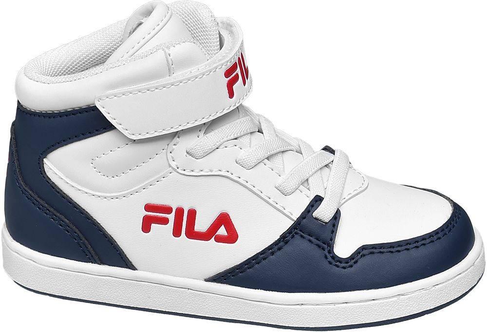 Fila Fila - Bielo-modré členkové tenisky Fila