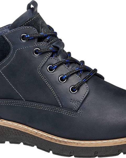 Tmavomodré topánky Gallus