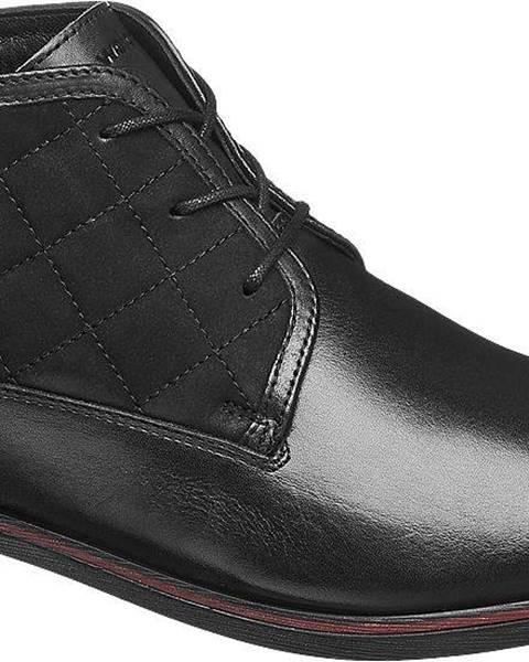 Čierne topánky Wojas