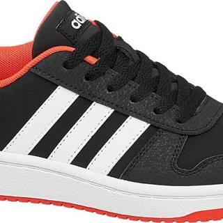 adidas - Čierne tenisky Adidas Hoops 2.0 K