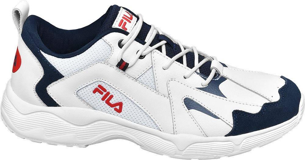 Fila Fila - Biele kožené tenisky Fila
