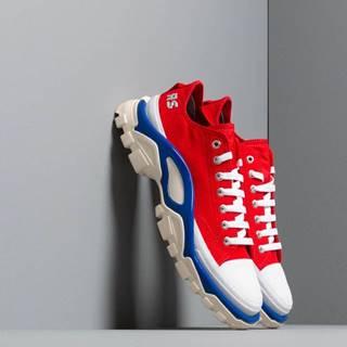 adidas x Raf Simons Detroit Runner Red/ Silver Metallic/ Bold Blue