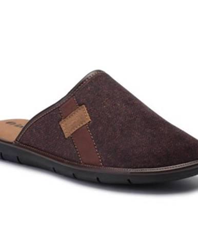 Hnedé papuče INBLU