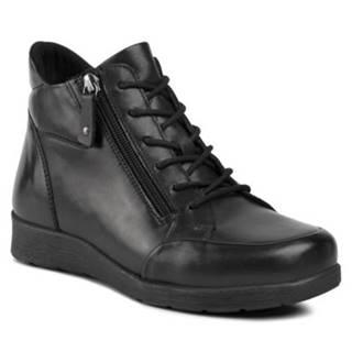 Šnurovacia obuv GO SOFT WI23-ULA-01 koža(useň) lícová