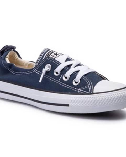 Tmavomodré tenisky Converse