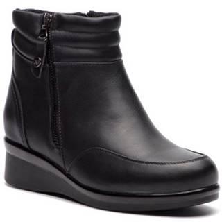 Členkové topánky Clara Barson WYL1625-1 koža ekologická