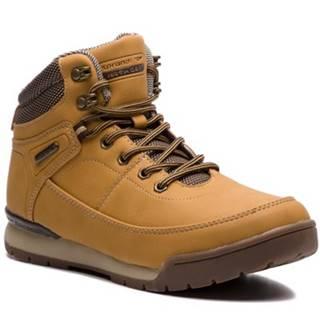 Šnurovacia obuv SPRANDI EARTH GEAR WP07-171034-02 Materiał tekstylny,koža ekologická