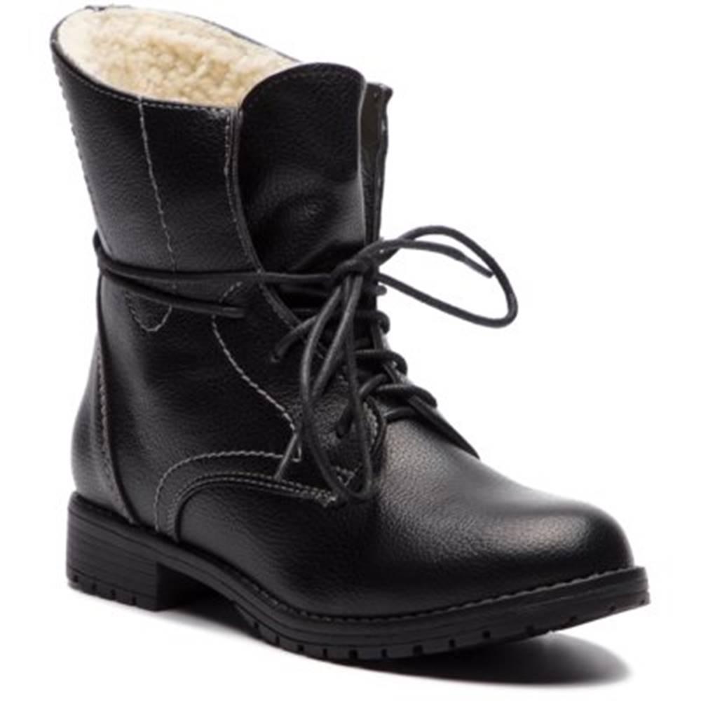Clara Barson Šnurovacia obuv Clara Barson WYL1623-1 koža ekologická