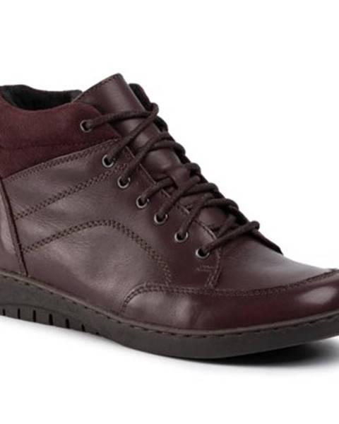 Bordové topánky GO SOFT