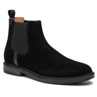 Členkové topánky Gino Rossi MI08-C641-639-05 Prírodná koža(useň) - Zamš