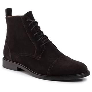 Členkové topánky Gino Rossi MTU417-CHUCK-04 Prírodná koža(useň) - Zamš