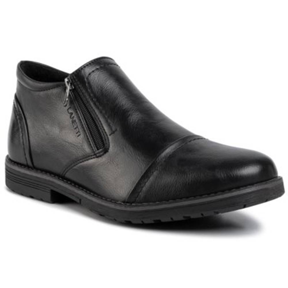 Lanetti Členkové topánky Lanetti MBS-ORKAN-01 Ekologická koža/-Ekologická koža