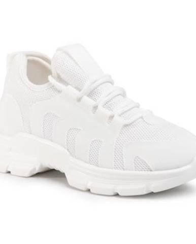 Biele poltopánky Jenny Fairy