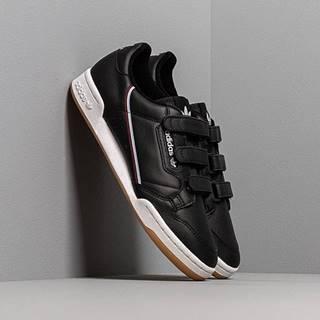 adidas Continental 80 Strap Core Black/ Maroon/ Glow Blue