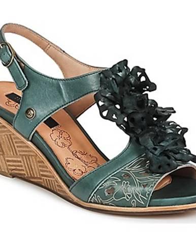 Zelené sandále Neosens