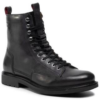 Šnurovacia obuv Gino Rossi MI08-C585-145-05 koža(useň) lícová