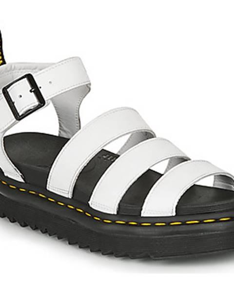 Biele sandále Dr Martens