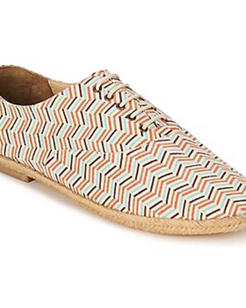 Viacfarebné topánky Petite Mendigote