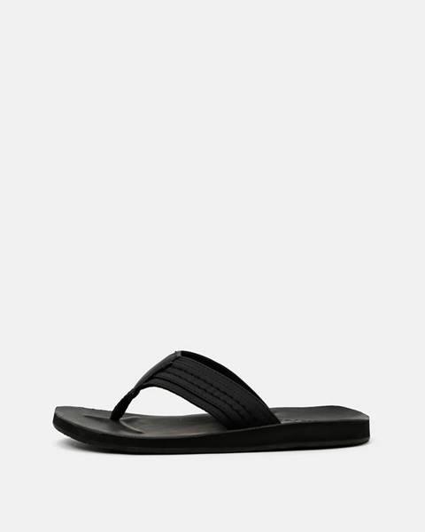 Čierne sandále Jack & Jones