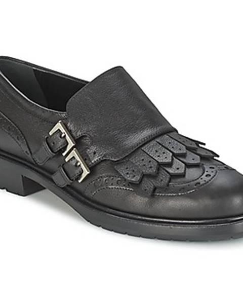 Čierne topánky Etro