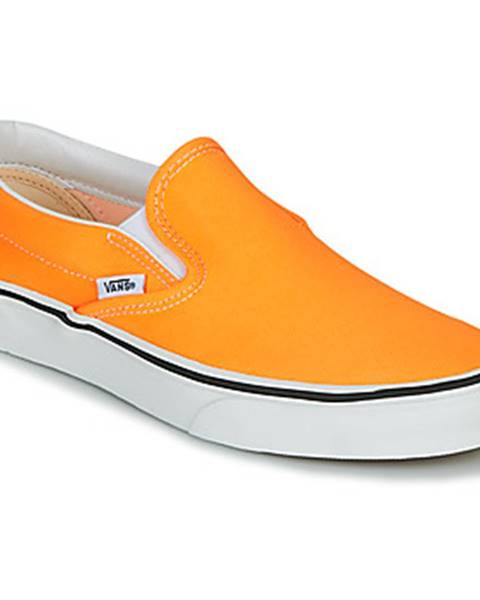 Oranžové espadrilky Vans
