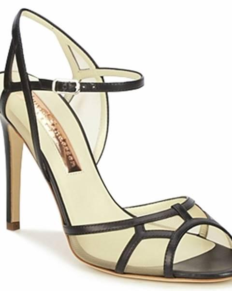 Čierne sandále Rupert Sanderson
