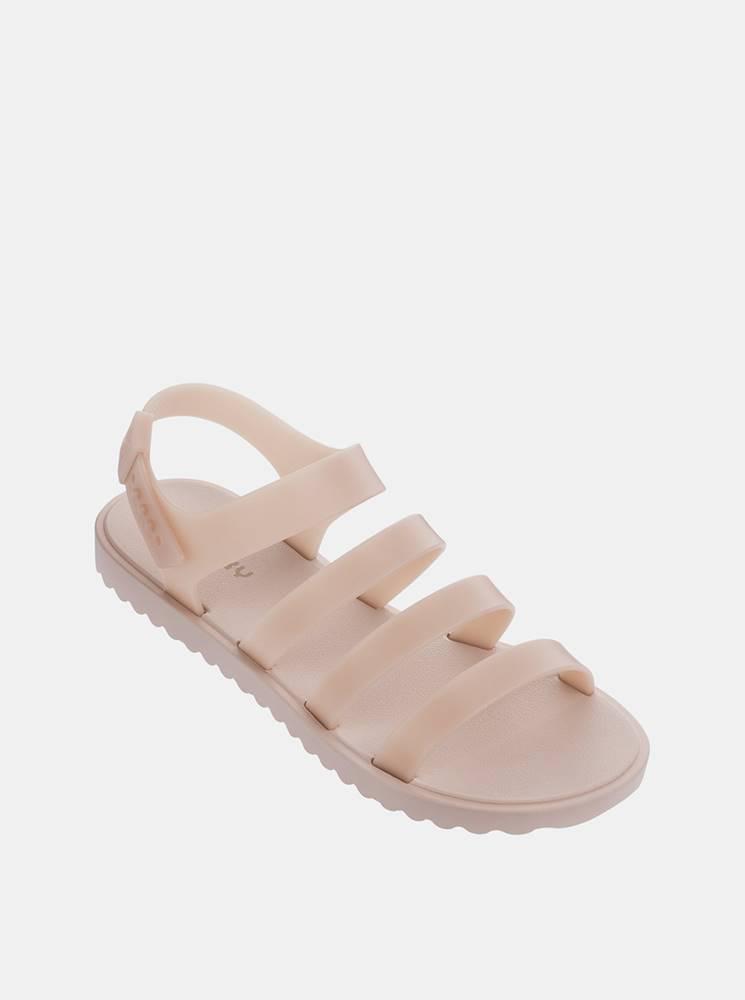 Zaxy Svetloružové remienkové sandálky Zaxy Spring