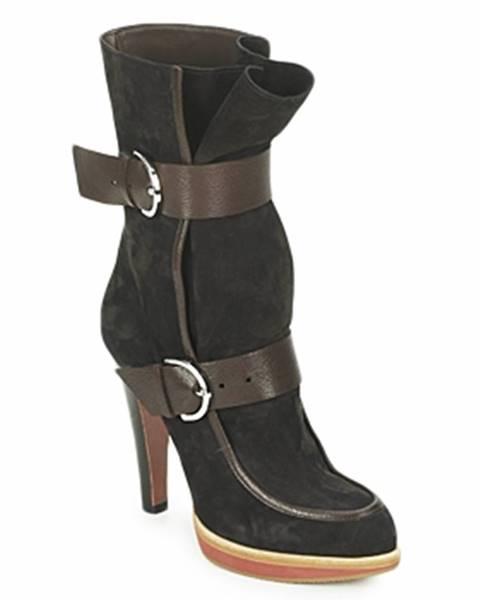 Čierne topánky Michel Perry
