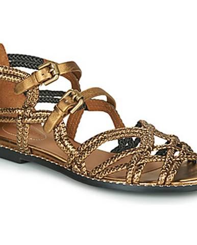 Zlaté sandále See by Chloé