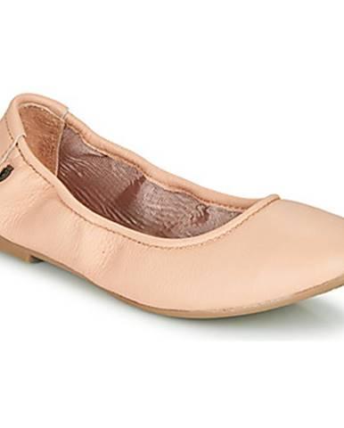 Ružové balerínky Minnetonka