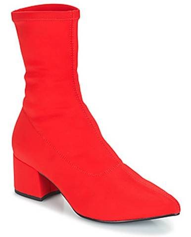 Červené topánky Vagabond